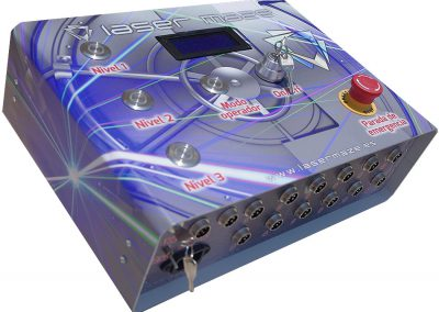 Laser Maze Control Box