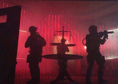 Laser Maze en La Casa de Papel