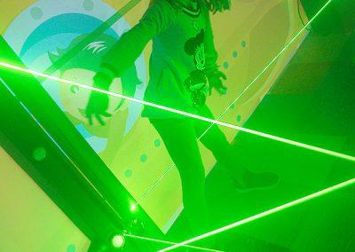 Laser Maze Indoor Bubble Park
