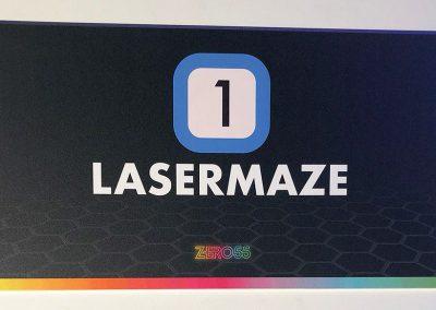 Laberinto Láser Indoor Zero 55