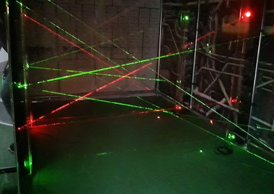 Laser maze Albergue Paraiso