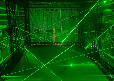 Laser Maze Vault carrousel