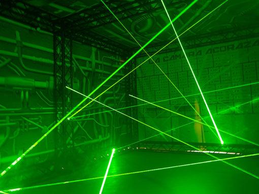 Laser Maze Vault