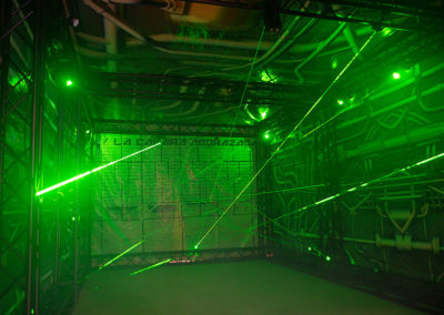 Laser Maze ready for playing